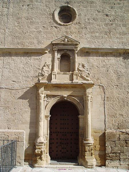 portada renacentistas iglesia san grabriel Loja.