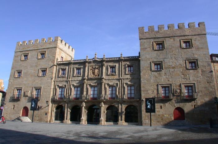Gijón Palacio de Revillagigedo