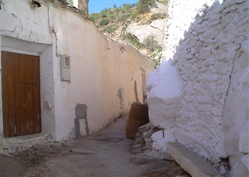 calles del viejo Chercos