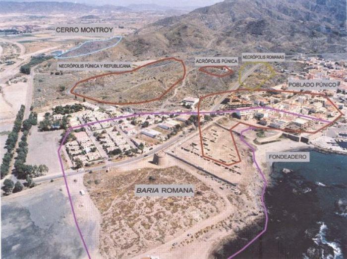 Mapa de Verllaricos donde se muestra todo los asentamientos allí existentes.