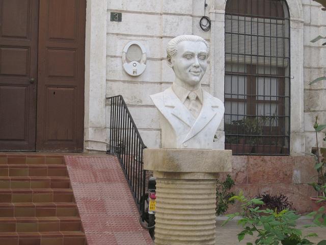 Busto de Federico Garcia Lorca