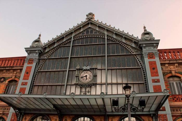 vista de la estación