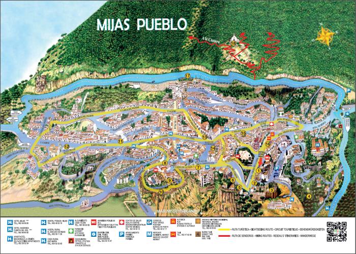 Plano de Mijas, según se manifiesta en la página de promoción turística de la pobláción.