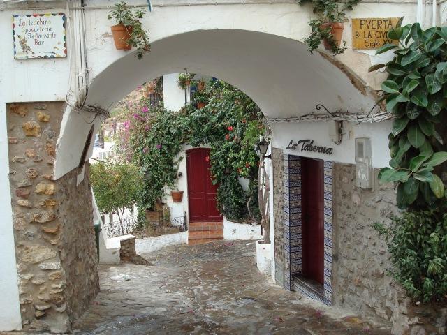 Puerta de la ciudad Mojacar