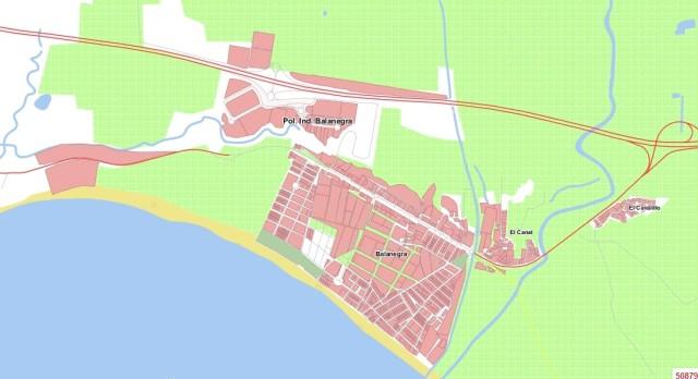 Mapa de Balanegra