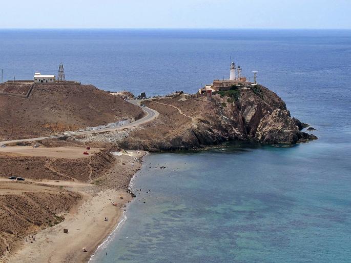 Playas faro Cabo de Gata